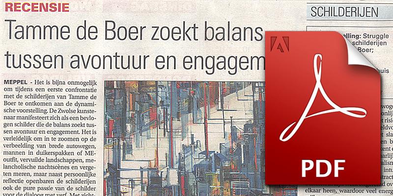 2014-11-03---meppeler-courant---recensie-wim-van-der-beek